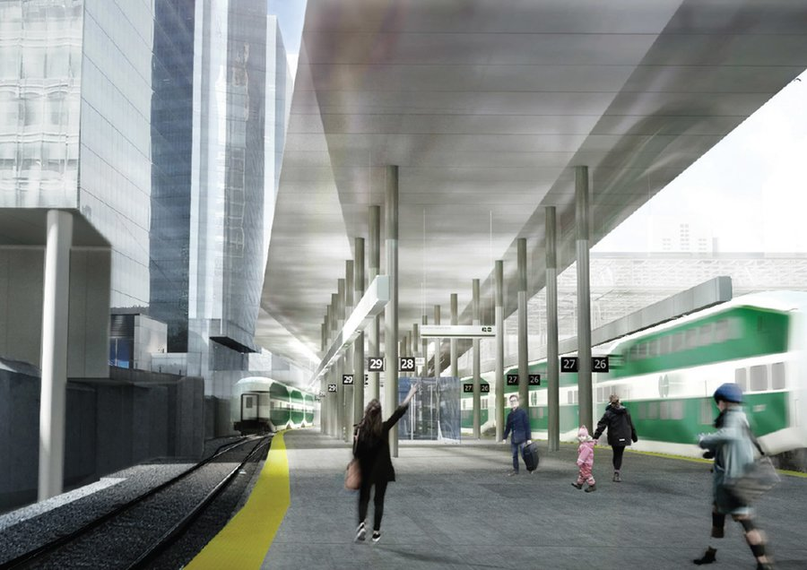 GO Transit Union Stations Bus Terminal Rendering